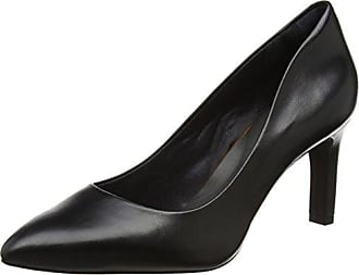 Peter Kaiser Madeleine, Zapatos de Tacón con Punta Cerrada para Mujer, Negro (Schwarz Suede 240), 35 EU