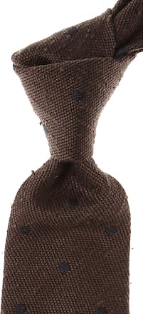Ties On Sale, Chocolate Brown Melange, Cashmere, 2017, one size Tom Ford