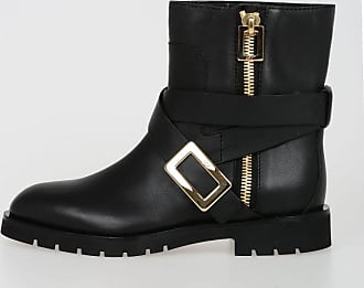 Leather BIKER Boots Spring/summerRoger Vivier