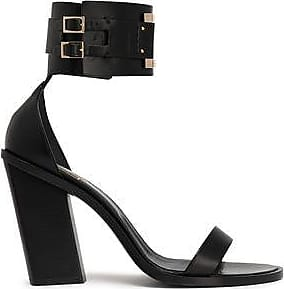 Roger Vivier Woman Skyscraper Leather Sandals Black Size 35 Roger Vivier