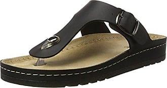 Rohde Riesa 5800 Zuecos de material sintético mujer, Schuhgröße:42;Farbe:blanc
