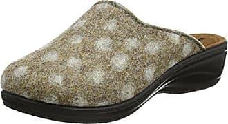 Minnetonka Leopard Cally Slipper 40160 - Zapatillas de casa de cuero para mujer, Negro, 41
