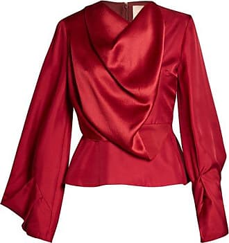 Voru origami-sleeved draped top Roksanda Ilincic