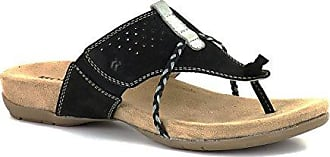 ROMIKA - Barbara 112 - Damen Zehentrenner - schwarz Schuhe in Größe 37