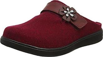 Romika Romilastic 102, Damen Pantoffeln, Rot (Brombeer 455), 41 EU