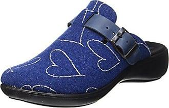 Romika Damen Ibiza Home 321 Pantoffeln, Blue (Blue Combi), 39 EU