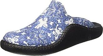 Romika Ibiza Home 301 - Zapatillas de estar por casa, color Marine 503, talla 44 EU (9.5 Damen UK)