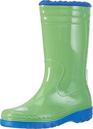 Romika Bobby, Unisex-Erwachsene Gummistiefel, Mehrfarbig (zitrone-blau), 41 EU