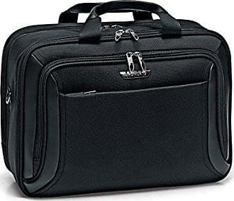 Unisex-Erwachsene Biz 2.0 Laptop Tasche, Schwarz (Negro (01)), 16x31x42 centimeters Roncato