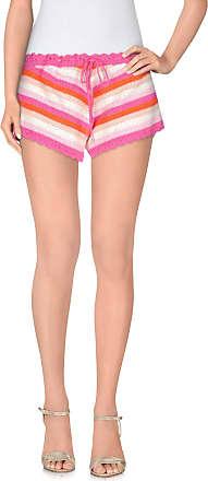 TROUSERS - Shorts Rose Carmine