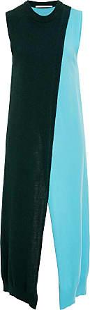 Cutaway Color-Block Cashmere Tunic Rosetta Getty