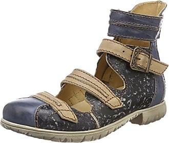 Rovers, Zapatos de Cordones Oxford para Mujer, Blau (Blau), 41 EU