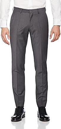 5009-0240 - Anzughose Homme, Gris (Dunkelgrau gestreift 209), W34/L36 (Taille fabricant: 98)Roy Robson