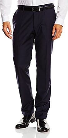 Mens Pleat-Front Suit Trousers Roy Robson