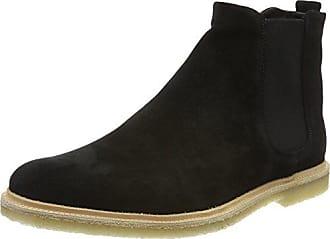 Royal Republiq Prime Crepe Suede-Blk, Chelsea Boots Femme, Noir (Black 01), 37 EU
