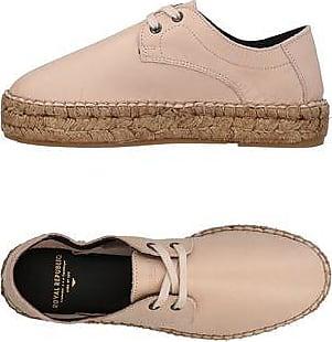 Royal RepubliQ Elpique Brogue Shoe, Zapatillas para Mujer, Beige (Nude 89), 39 EU