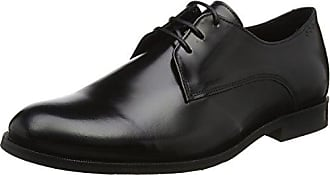 Royal RepubliQ Prime Fringe Shoe-BLK, Zapatos de Cordones Derby para Mujer, Negro (Black 01), 36 EU