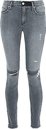Rta Woman Faded Mid-rise Skinny Jeans Mid Denim Size 23 Rta