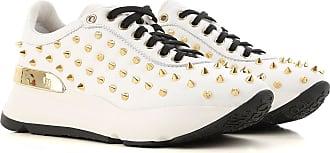 Sneaker für Damen, Tennisschuh, Turnschuh Günstig im Sale, Bronze, Paillettes, 2017, 35 37 38 40 Ruco Line