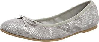 22100, Bailarinas Para Mujer, Gris (Lt Grey Comb), 39 EU s.Oliver