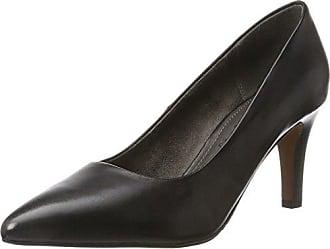 25517, Bottes Femme, Noir (Black), 38 EUs.Oliver