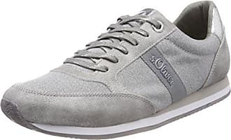 s.Oliver 23640, Zapatillas para Mujer, Azul (Navy/Silver), 38 EU