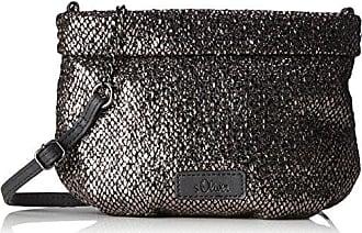 39.712.94.4503, Womens Cross-Body Bag, Schwarz (Black/schwarz), 4x18.5x24.5 cm (B x H T) s.Oliver
