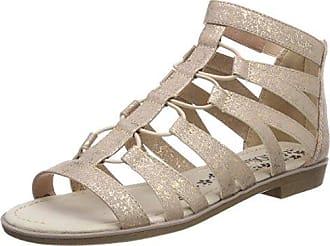 s.Oliver Mädchen 58217 Offene Sandalen mit Keilabsatz, Grau (Grey 200), 40 EU