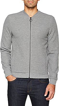 1J.895.43.6441, Sudadera para Hombre, Gris (Grey Melange 95W3), Medium s.Oliver Black Label