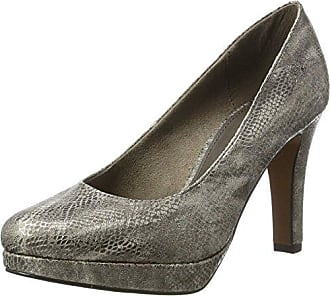 s.Oliver Damen 22400 Pumps, Grau (Dk Grey Patent 205), 38 EU (5 UK)