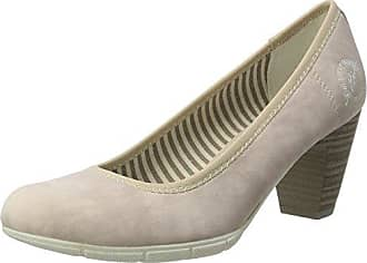 22405, Zapatos de Tacón Para Mujer, Plateado (Silver Glam), 40 EU s.Oliver
