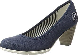 22406, Escarpins Femme, Bleu (Jeans 845), 41 EUs.Oliver