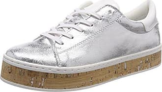 23624, Sneakers Basses Femme, Argent (Pewter), 40 EUs.Oliver