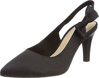 24417, Zapatos de Tacón para Mujer, Negro (Black), 41 EU s.Oliver
