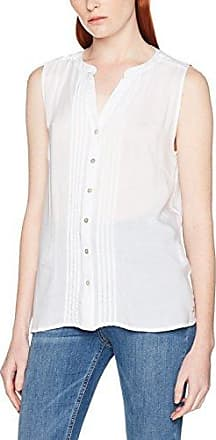 Q/S designed by - s.Oliver 41702135556, Blusa para Mujer, Marfil (Ecru AOP 02A2), Large