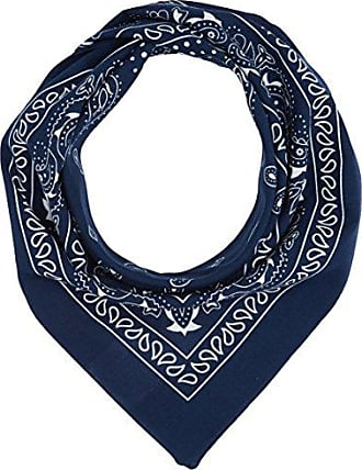 Womens 39.609.91.5768 Scarf, Blue Placed Print 53D1, One Size s.Oliver