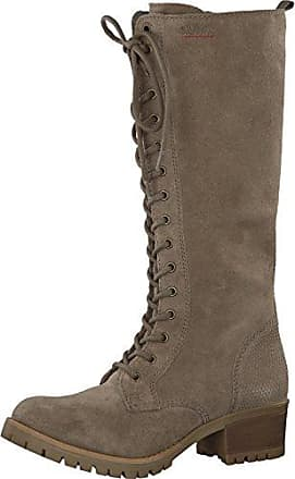 s.Oliver Damenschuhe 5-5-26491-27 Damen Stiefel, Boots, Stiefeletten grau (GRAPHITE FLOWE), EU 37