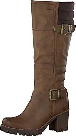 s.Oliver Damenschuhe 5-5-26491-27 Damen Stiefel, Boots, Stiefeletten Braun (Pepper Snake), EU 39