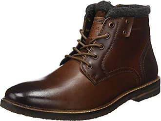 13203, Zapatos de Cordones Oxford para Hombre, Marrón (Cognac Comb 319), 44 EU s.Oliver
