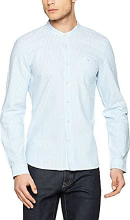 13707213154, T-Shirt Manches Longues Homme, Bleu (Nil Blue 52G6), Ss.Oliver