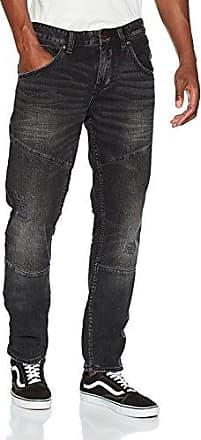 13708714205, Jeans para Hombre, Grau (Black Denim Non Stretch 97Y4), W32/L36 s.Oliver