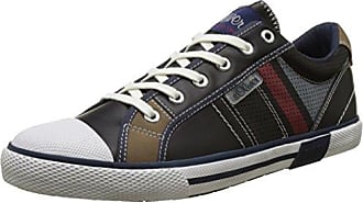 13619, Sneakers Basses Homme, Bleu (Navy 805), 42 EUs.Oliver