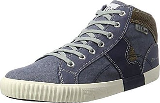 15202, Sneakers Hautes Homme, Bleu (Light Blue 881), 44 EUs.Oliver