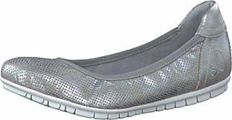 S. Oliver Shoes Da.-Ballerina Größe 41 SILVER
