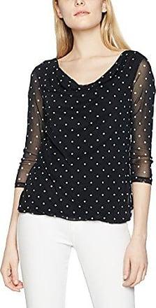 s.Oliver Black Label 11703392480, Camiseta para Mujer, Negro (Snakeprint AOP 99A1), 40