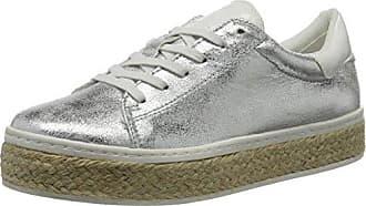 s.Oliver 23626, Zapatillas para Mujer, Plateado (Silver), 39 EU