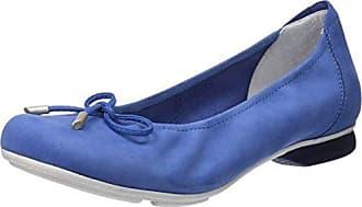 Hirschkogel 3123400, Ballerines Bout Fermé Femme, Bleu (Jeans 274), 40 EU