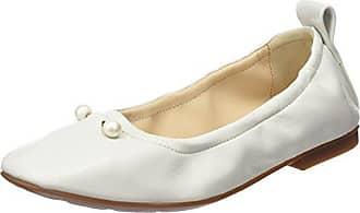 TOM Tailor 2794301, Bailarinas con Punta Cerrada para Mujer, Blanco (White 00002), 42 EU Tom Tailor
