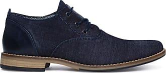 Blaue Schnürschuhe mit Jutesohle (40,41,42,43,44,45,46)