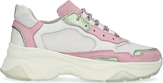 Dad-Sneaker grün/rosa (36,37,38,39,40,41,42)